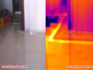 Termal Kamera Su KaçakTespiti Cihazı