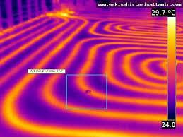 Termal Kamera Su Kaçağı Tespit Cihazı Görüntülü kaçak su tespit cihazı